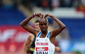 Mo Farah has won his last track race in the UK and fans are all kinds of emotional