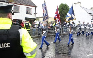 Police to investigate alleged verbal abuse of loyalist bandsmen in Rasharkin