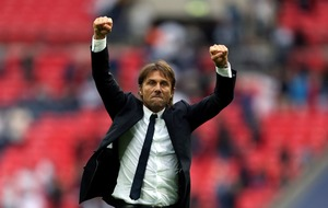 Here's the story of Chelsea's victory over Tottenham using Antonio Conte's face