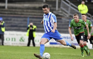 Oran Kearney taking it one step at a time with Coleraine