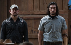 Channing Tatum and Adam Driver in London for Logan Lucky premiere