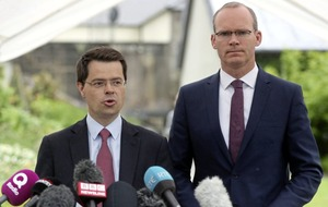 James Brokenshire to hold talks in Dublin tomorrow with Simon Coveney