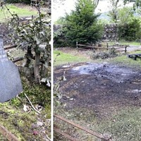 PSNI 'ramps up' patrols after fires at Belfast cemetery