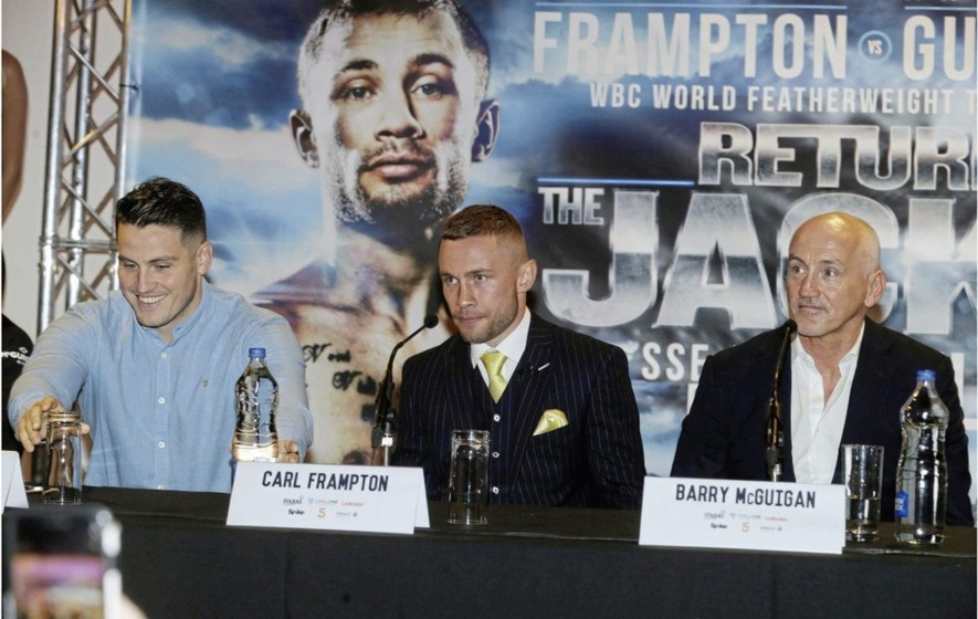 Carl Frampton: Boxing star splits with manager Barry McGuigan