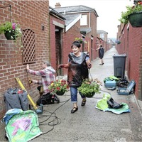Ardoyne entry transformed from grim to gorgeous