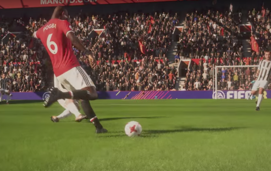 Federation Internationale de Football Association 18 Gamescom Trailer Showcases World's Best Footballers