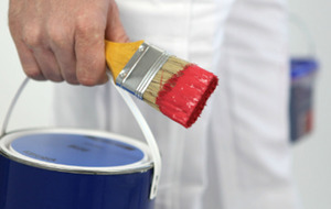 Man threw tins of paint at police station because an officer 'mocked him'