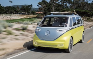Volkswagen is reviving the camper van with a new electric version