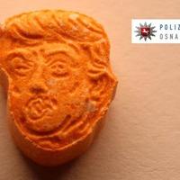 German police have seized thousands of orange 'Trump' ecstasy tablets