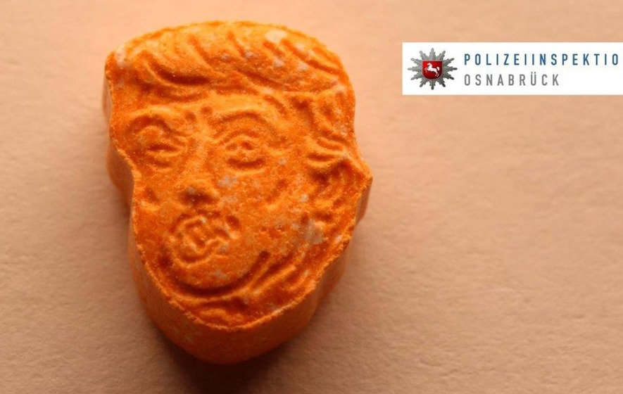 Police Seize Yuuuge Stash Of Donald Trump-Shaped Ecstasy Pills