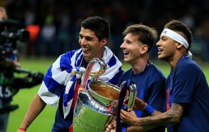 Neymar's difficulty with Barcelona doesn't appear to have affected his MSN friendship