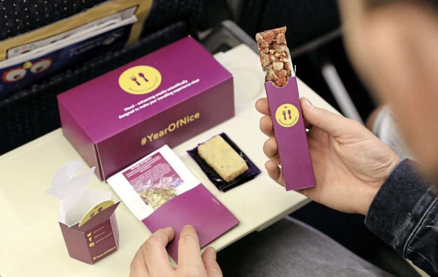 Airline Monarch launches new feel good food range