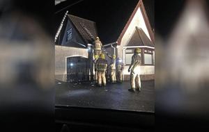 Lightning strike on Co Down house 'like a bomb exploding'