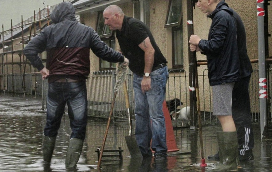 Flooding hits Donegal and Northern Ireland