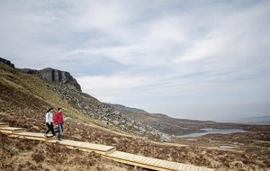 Cuilcagh Mountain walkway: Car park re-opens after dispute