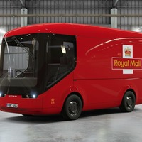 Royal Mail is testing these futuristic-looking electric vans