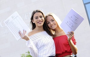 Schools celebrate strong GCSE performance