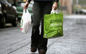 100 million plastic bags sold by Northern Ireland retailers in past year