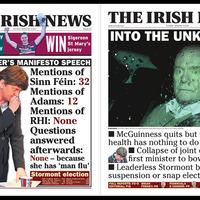 Irish News is best performing newspaper in Ireland and UK