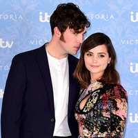 Victoria's Jenna Coleman prompts engagement rumours with glittering ring