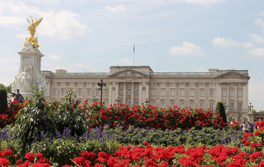 Police officers injured in attack at Buckingham Palace
