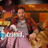 Tom Hardy makes his final CBeebies appearance with late dog Woody
