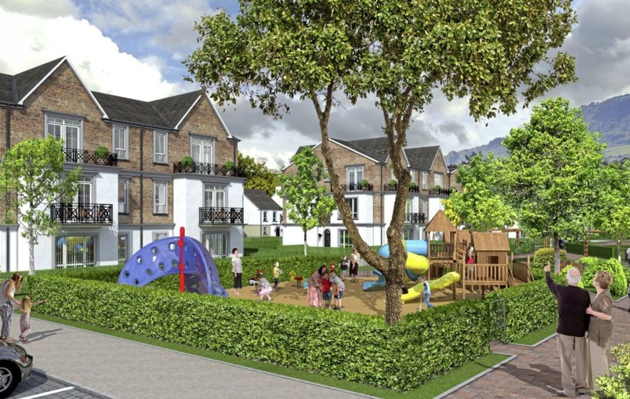 Plans for northern ireland 39 s first retirement village to for Retirement village house plans