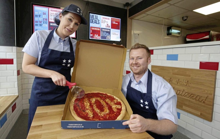 Four Star Pizza In 10000 Investment And Jobs Boost At