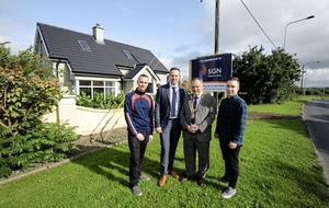 Major milestone as first Gas to the West domestic consumer connected in Strabane