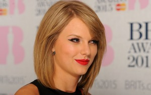 Taylor Swift in line to score first UK number one single
