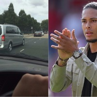 Liverpool fans' transfer detectives believe they've tracked Virgil Van Dijk on his way to the club