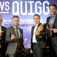 Eddie Hearn 'extremely confident' of re-signing Carl Frampton after Cyclone split