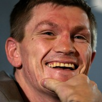 Ricky Hatton leaving the gym in this famous car might drive you berserk