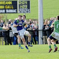 St Gall's and Lamh Dhearg clash in Antrim quarter-final