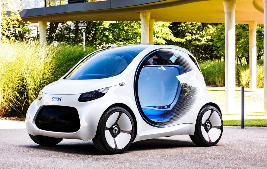 Smart vision EQ fortwo concept — FRANKFURT MOTOR SHOW