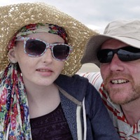 Co Derry father to cycle across Ireland in memory of his daughter who battled brain tumour