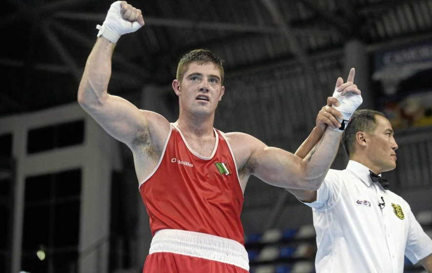 Ireland's Joe Ward beaten by Julio La Cruz in light heavyweight final