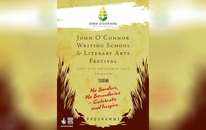 John O'Connor Writing School and Literary Arts Festival in Armagh returns for a second year