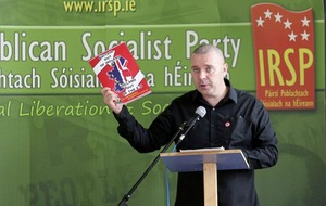 IRSP wants a united Ireland that is not a part of the EU