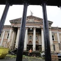 Gallery: Restoration work begins on former Crumlin Road courthouse