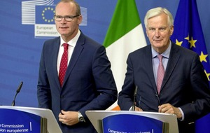 EU's Barnier calls for more discussion on impact of Brexit on Ireland