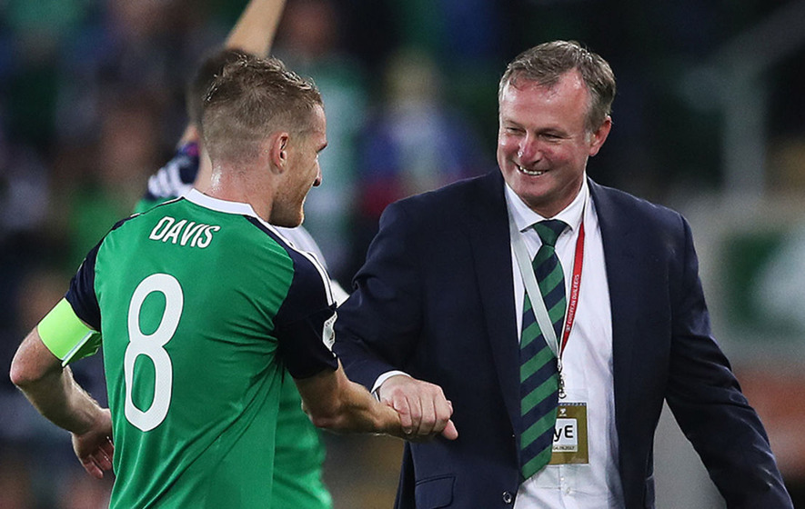 Image result for michael o'neill northern ireland