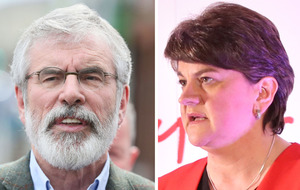 Gerry Adams call for united Ireland referendum 'divisive and destabilising', says Arlene Foster