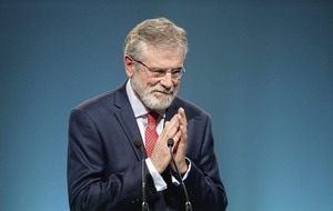 Gerry Adams to reveal future plans at November party conference