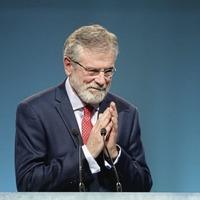 Deaglán de Bréadún: Difficult to imagine Gerry Adams taking a back seat