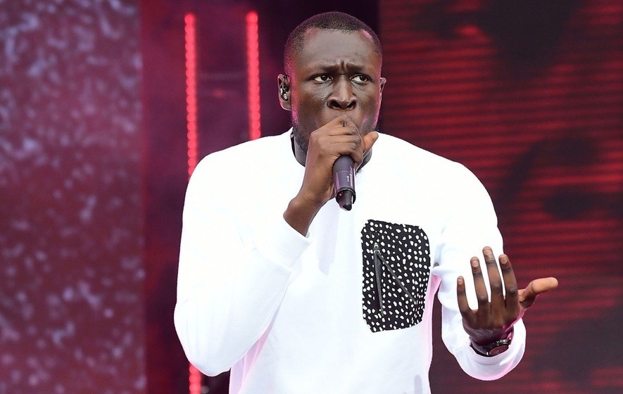 Stormzy Savages Theresa May On Stage At The GQ Awards