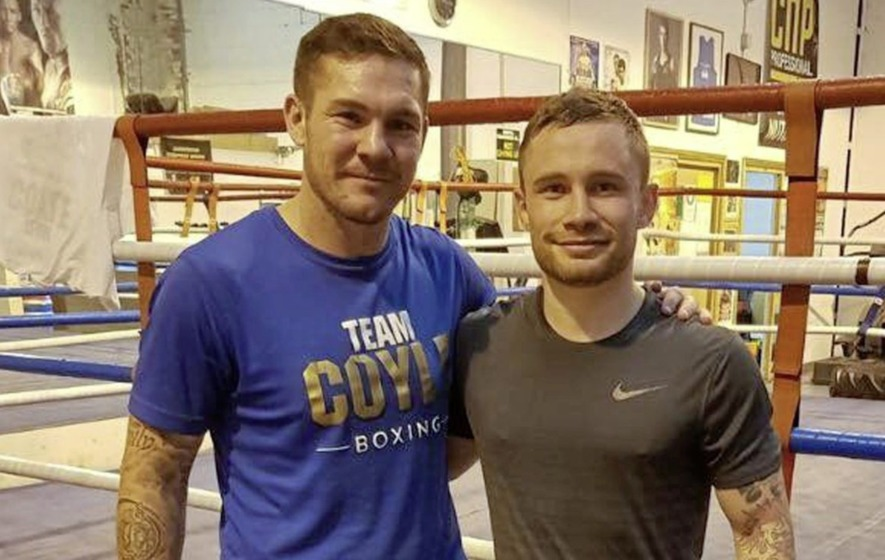 Carl Frampton confirms Jamie Moore as new trainer