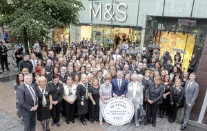 M&S celebrates milestone 50th anniversary of trading in NI