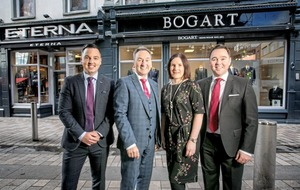 Bogart are dressed to invest