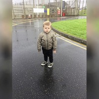 Two-year-old 'refused jail visit with father because of camouflage shoes'